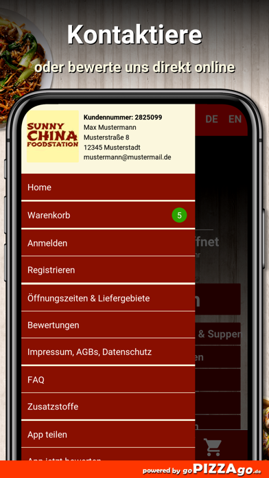 China Foodstation Reichenbach screenshot 3