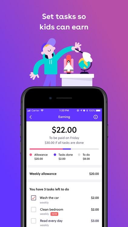 GoHenry: Kids Debit Card & App screenshot-6