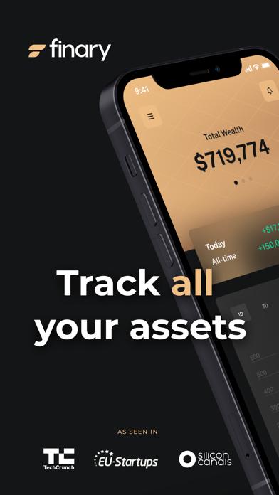 Finary: My Net Worth Tracker