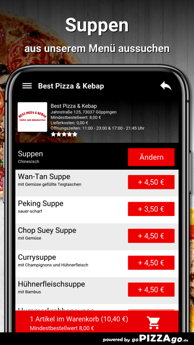 Best Pizza & Kebap Göppingen screenshot 5