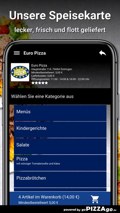 Euro Pizza Östringen screenshot 4