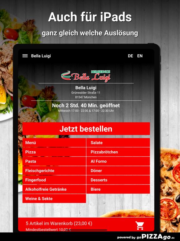 Bella Luigi München screenshot 7