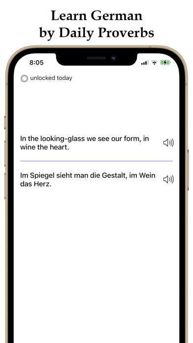 German and English Proverbs screenshot 1
