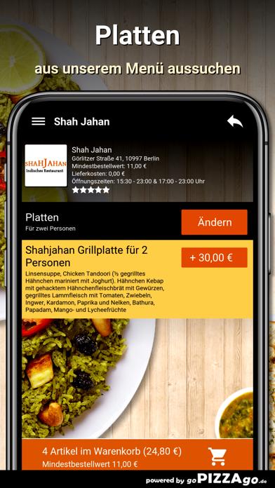 Shah Jahan Berlin screenshot 5