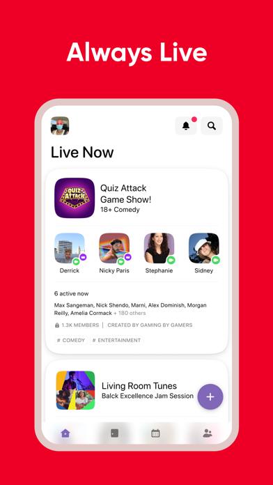Screenshot #3 pour Airtime   A live social space