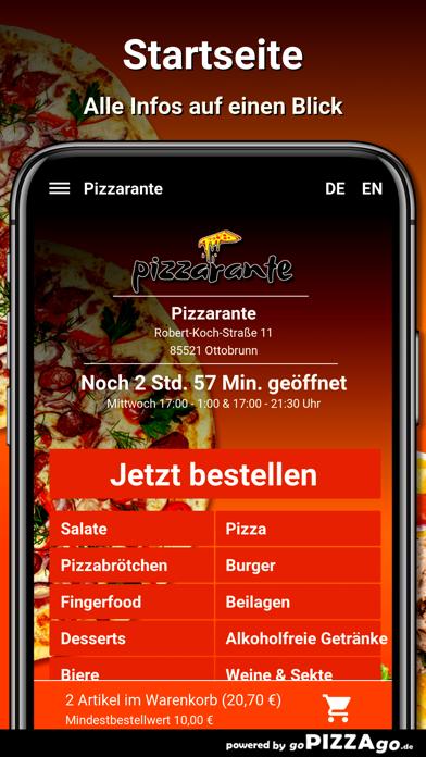 Pizzarante Ottobrunn screenshot 2
