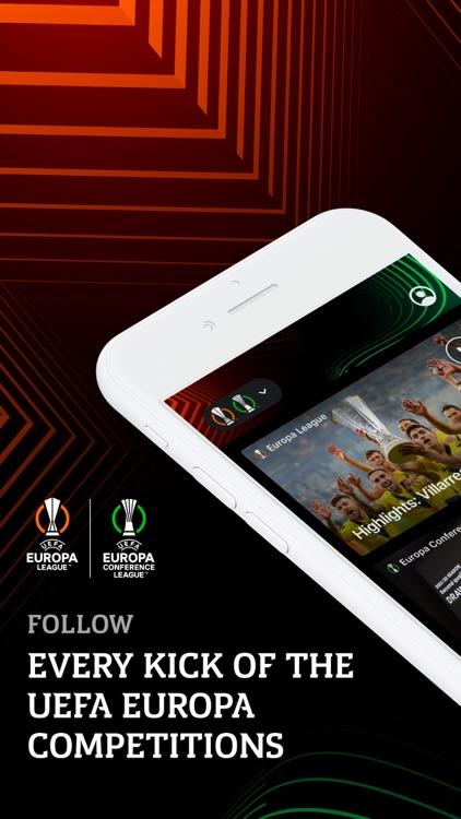 Europa: official football app screenshot-0