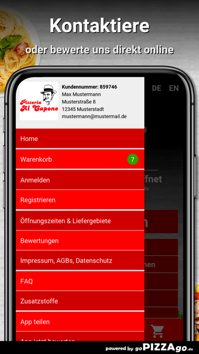 Pizzeria Al Capone Leipzig screenshot 3