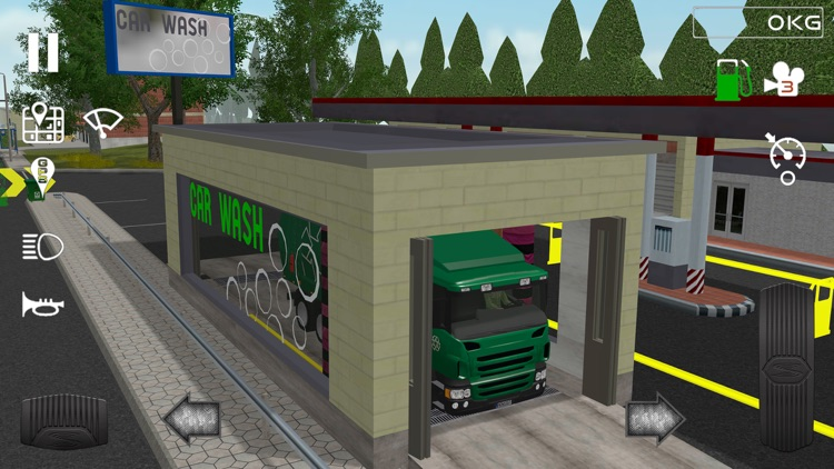 Trash Truck Simulator screenshot-6