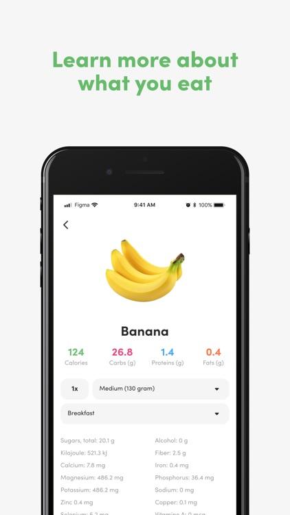 Food - Calorie & macro tracker screenshot-4