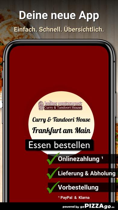 Curry&Tandoori House Frankfurt screenshot 1