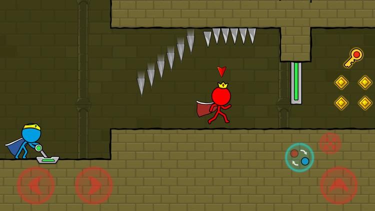 冰与火: 森林迷宫(Red & Blue Stickman) screenshot-4