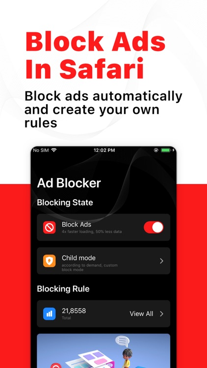 Ads Blocker - Fast & Complete screenshot-4