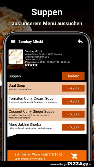 Bombay Mirchi Dresden screenshot 5