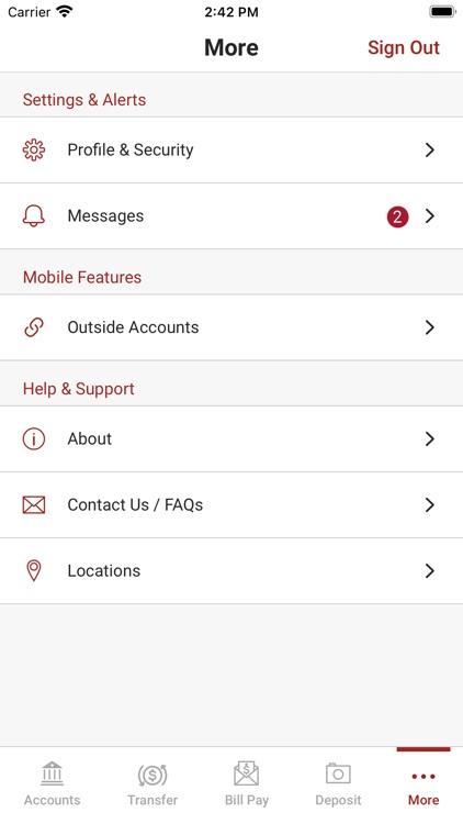 Central Bank Illinois Mobile screenshot-3