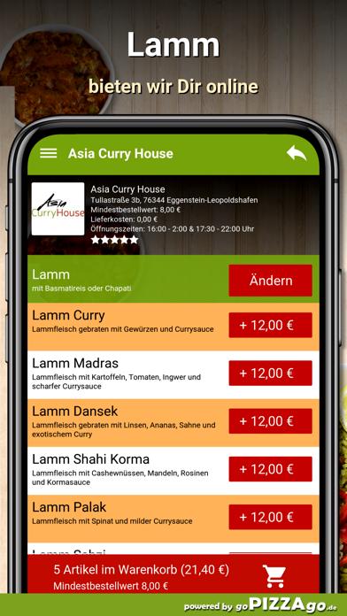 Asia Curry House Eggenstein screenshot 4