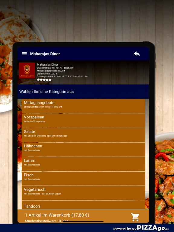 Maharajas Diner Pforzheim screenshot 8