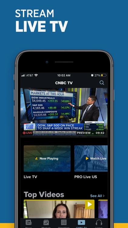 CNBC: Stock Market & Business screenshot-4