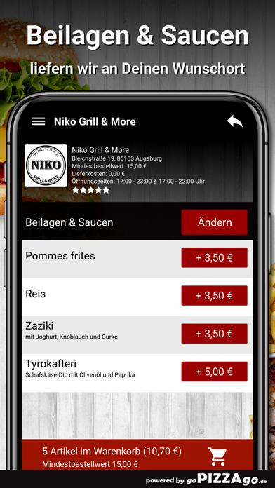 Niko Grill & More Augsburg screenshot 6
