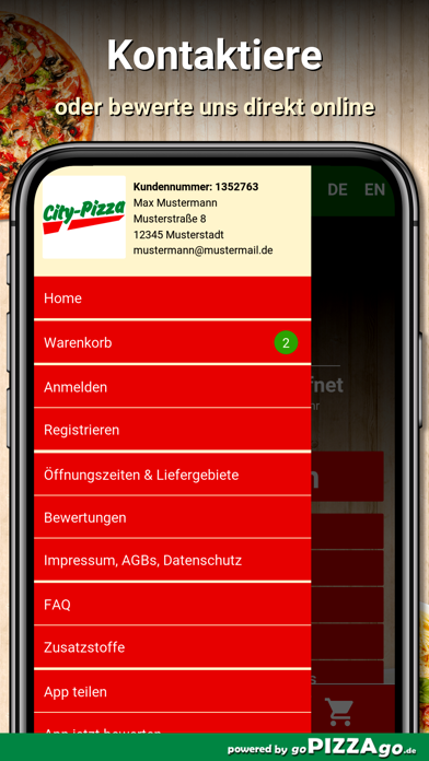 City Pizza Frankfurt am Main screenshot 3