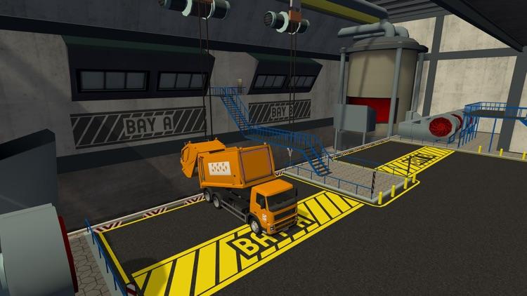 Trash Truck Simulator screenshot-8