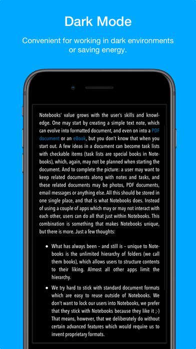Скриншот №4 к Notebooks – Write and Organize