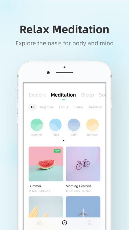 Tide: Sleep, focus, meditation