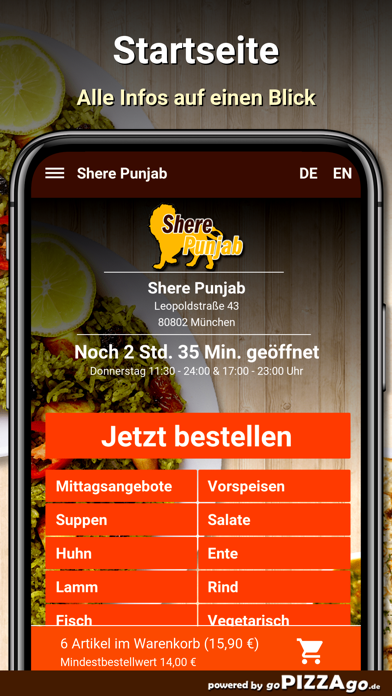 Shere Punjab München screenshot 2