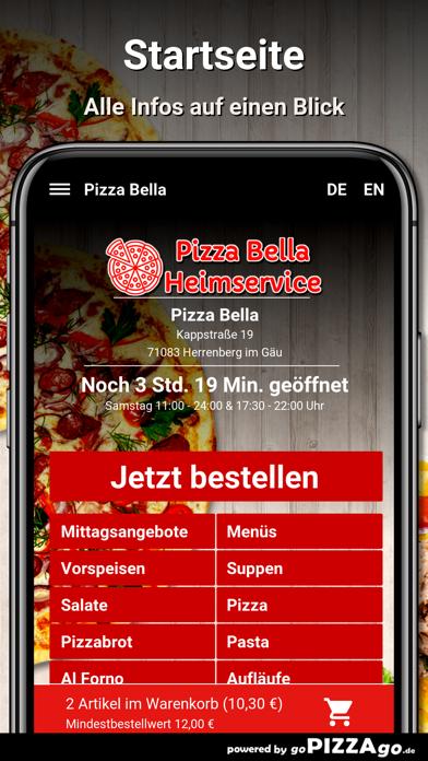 Pizza Bella Herrenberg im Gäu screenshot 2