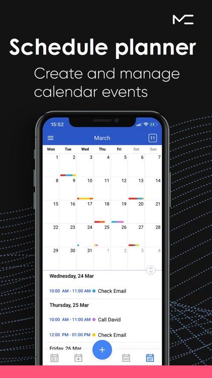 Schedule Planner App screenshot-0