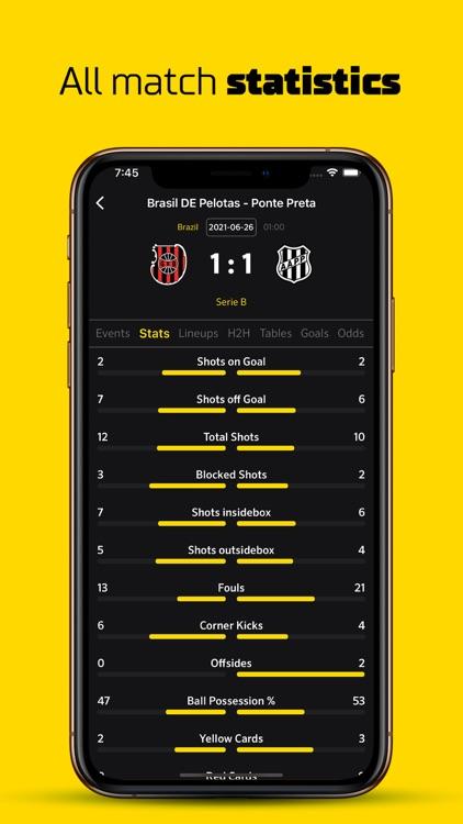 Live Score Football Scores screenshot-5