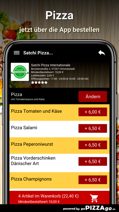 Satchi Pizza Himmelstadt screenshot 5