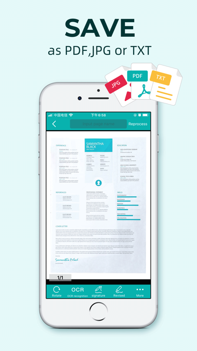 pdf scanner – Wordscanner pro Screenshots
