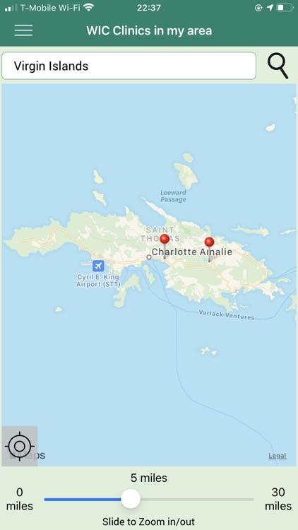 Virgin Islands WIC screenshot-3