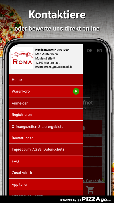Pizzeria Roma Hagen screenshot 3