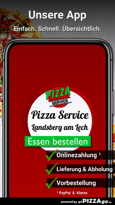 Pizza Service Landsberg screenshot 1