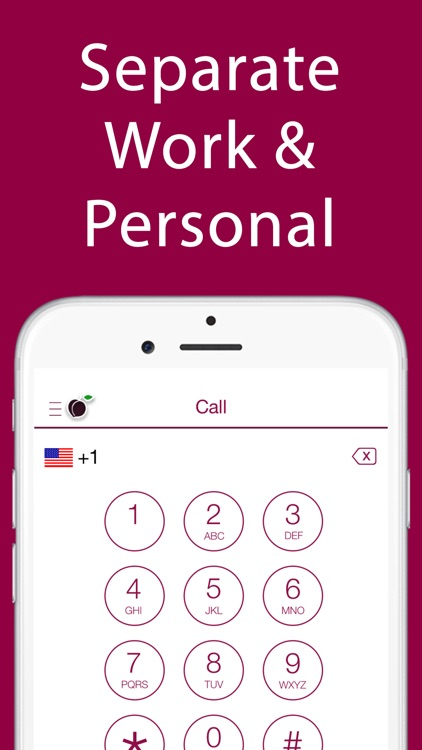 iPlum: Business Phone Number screenshot-0