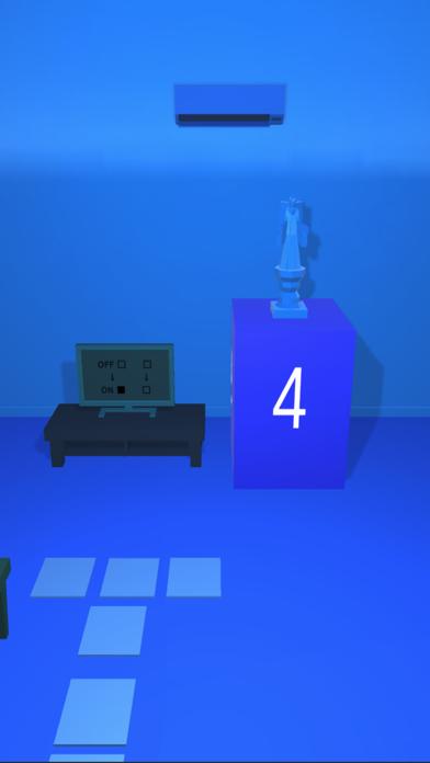 脱出ゲーム 青すぎる部屋からの脱出紹介画像2