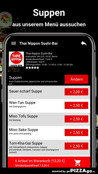 Thai Nippon Sushi-Bar Berlin screenshot 5