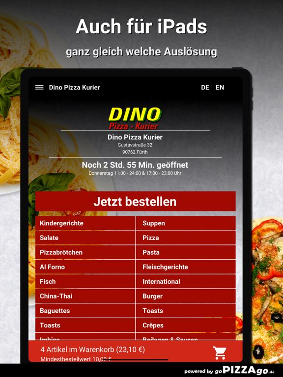 Dino Pizza Kurier Fürth screenshot 7
