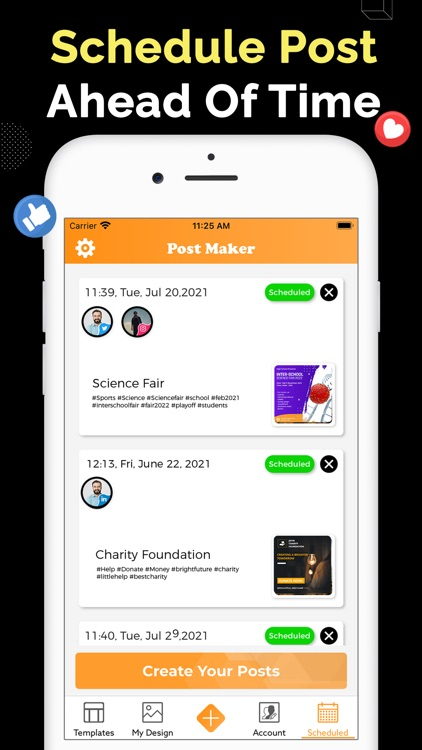 Social Media Post Maker screenshot-3