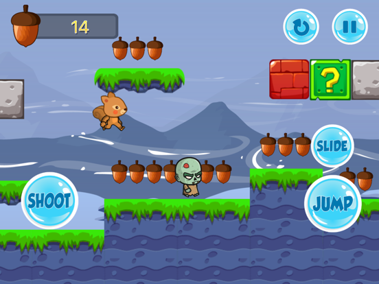 The Jungle Squirrel On Journey screenshot 11