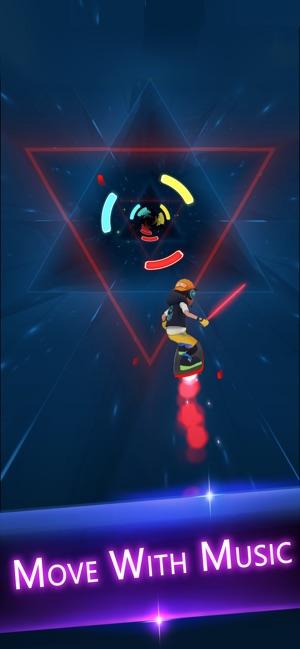 Cyber Surfer: EDM & Skateboard