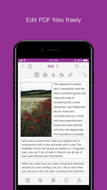 Foxit PDF Editor Intune screenshot-3