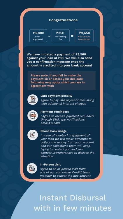 Creditt - Instant Loan Online screenshot-4
