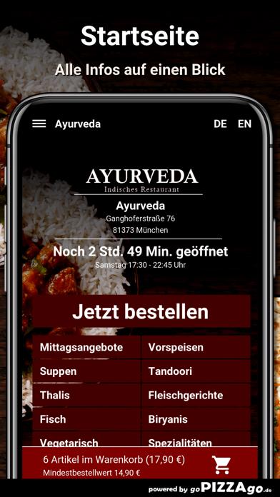 Ayurveda München screenshot 2
