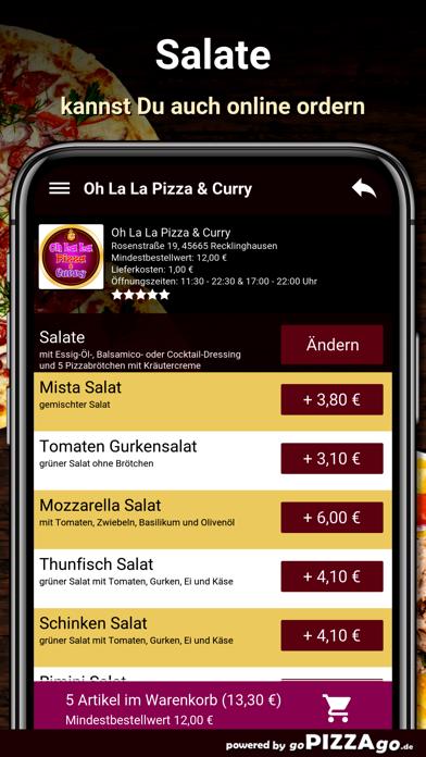 Oh La La Pizza Recklinghausen screenshot 5