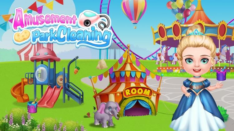 Amusement Park Cleaning