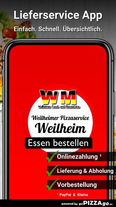 Weilheimer Pizza Weilheim screenshot 1