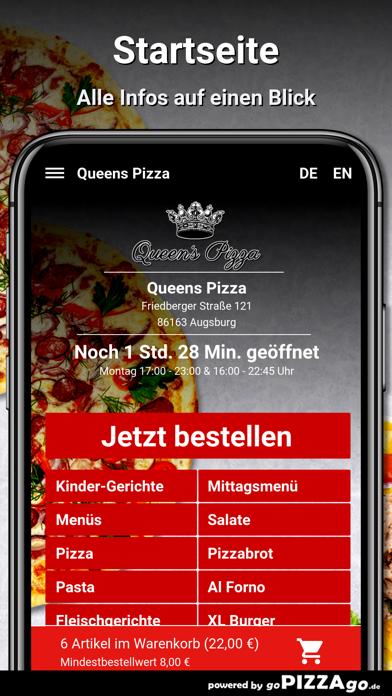 Queens Pizza Augsburg screenshot 2